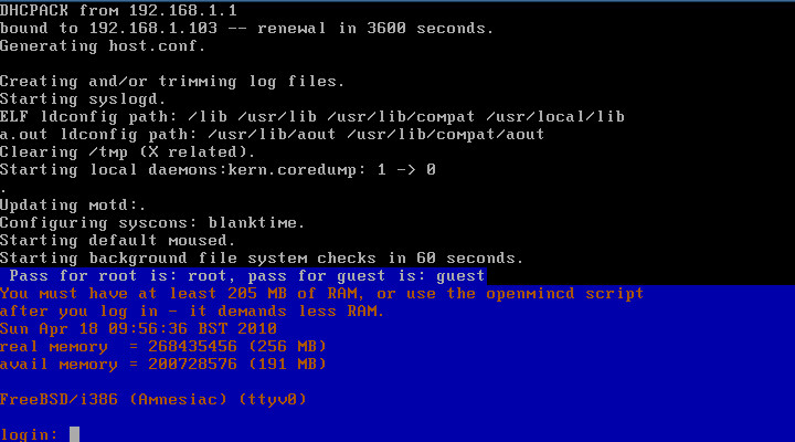FreeBSD MaheshaBSD Project